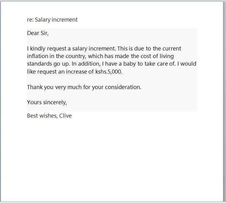 Salary Increment Request Letter Sample Pdf from www.word-templates.com