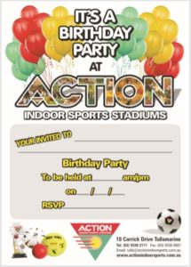 Birthday Invitation Template 05
