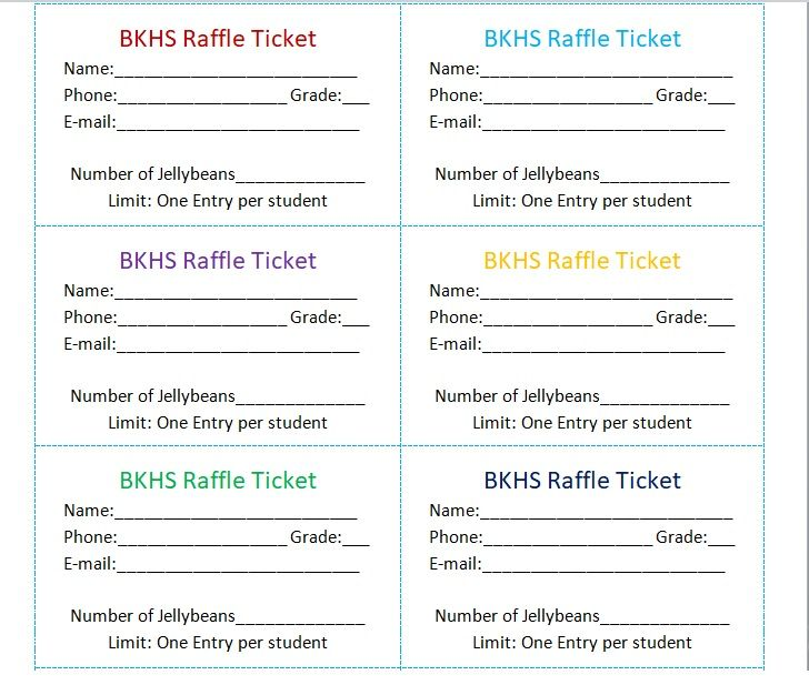 15 Free Event Ticket Templates Free Word Templates
