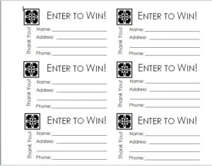Raffle Ticket Templates 07