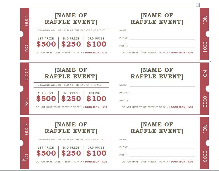Free Printable Raffle Ticket Template Download from www.word-templates.com