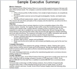 Summary Report Template 07