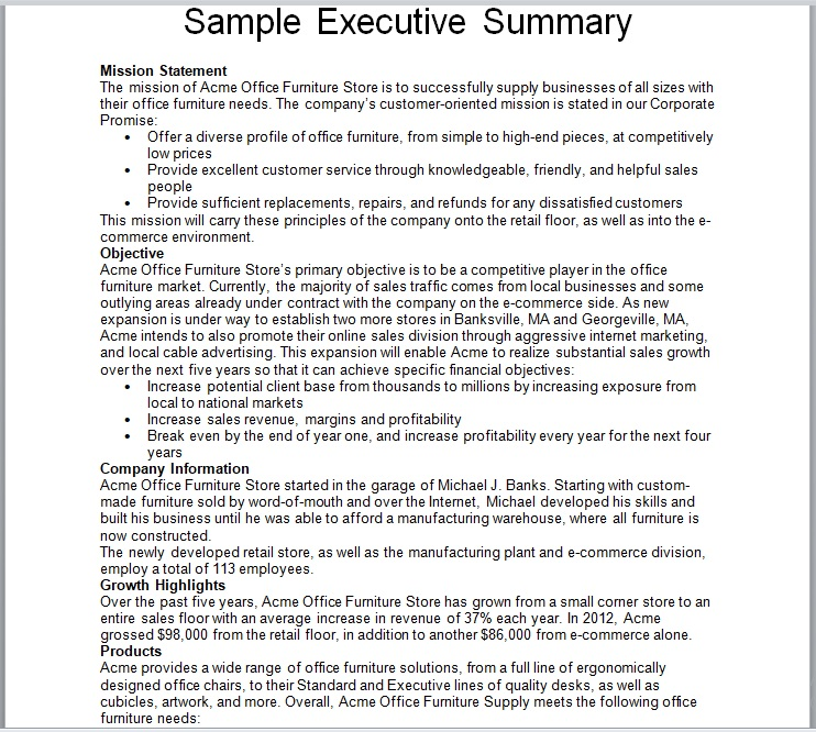 18 Free Summary Report Templates