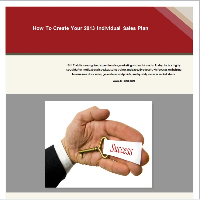 Individual Business Plan Template