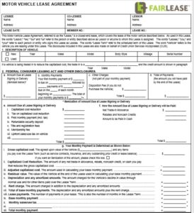 Lease agreement template 04