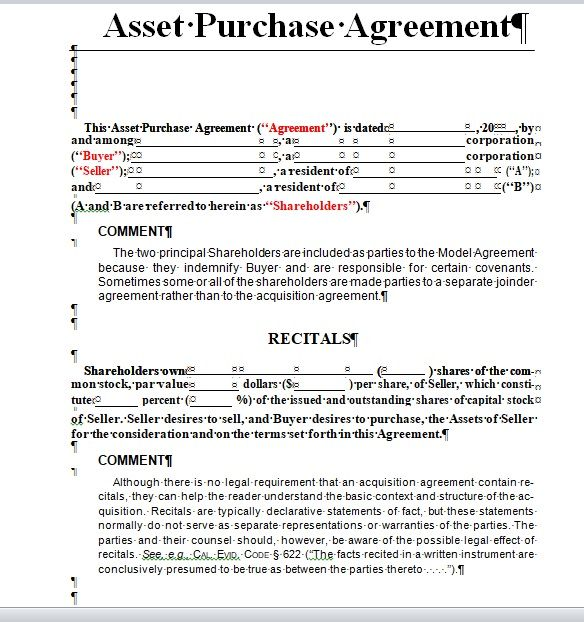 Purchase Agreement Template 17