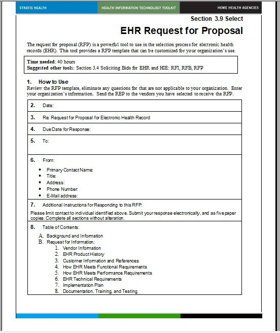15 Free Request For Proposal Templates