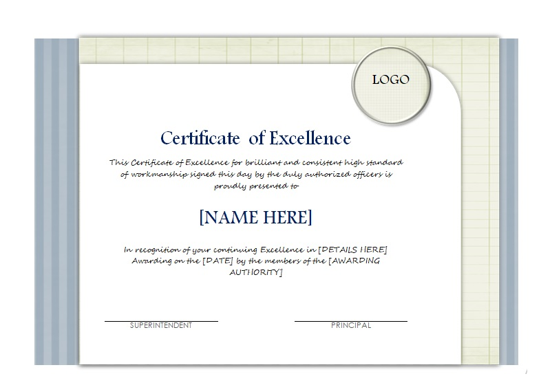 Certificate of Achievement Template 08