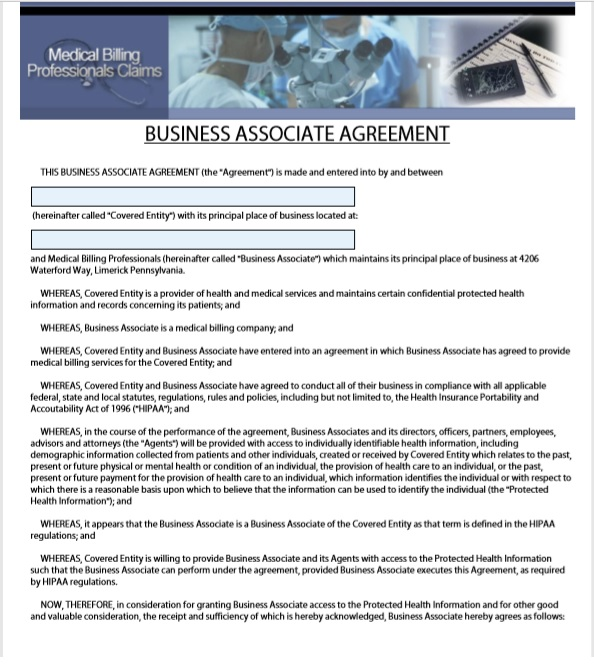 6 Free Business Associate Agreement Templates