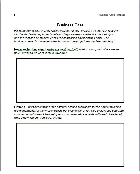 Business Case Template 15