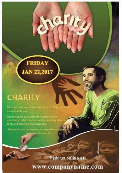 Donation Flyer Template 03