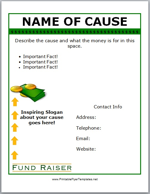 Donation Flyer Template 07