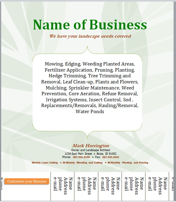 Small Business Flyer Template 14