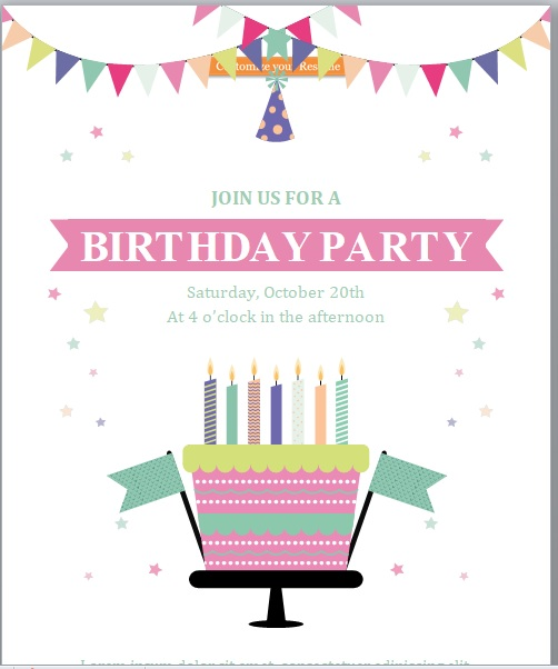 Event Flyer Template 07
