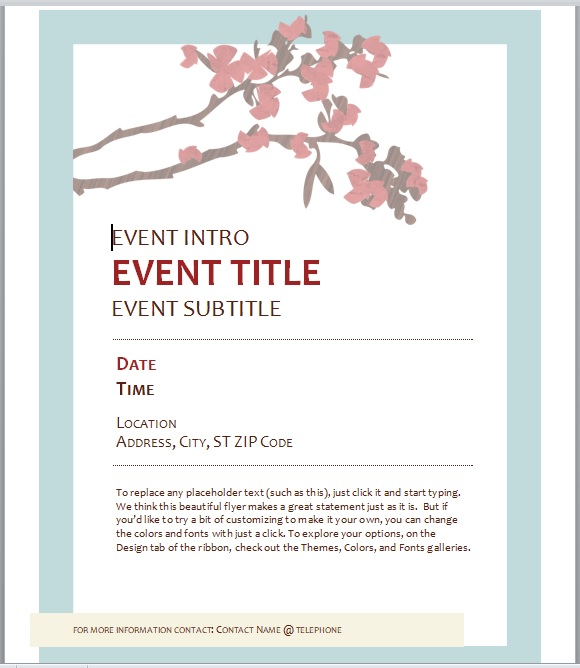 Event Flyer Template 08