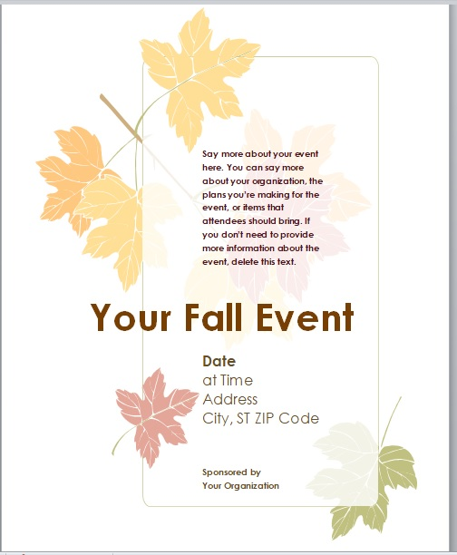 Event Flyer Template 09