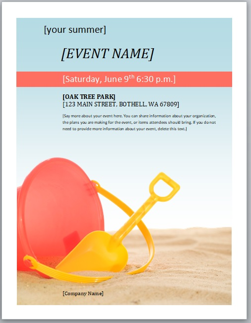 Event Flyer Template 13