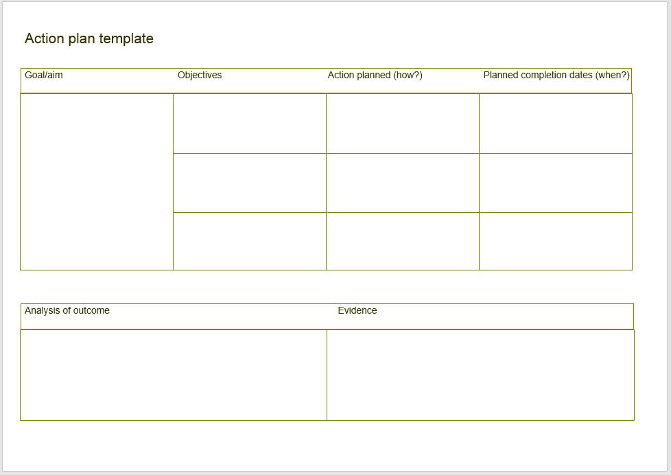 action plan template 11