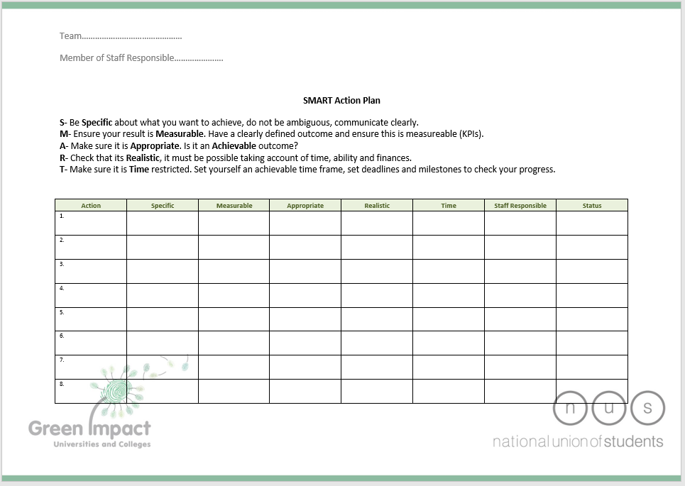 action plan template 17