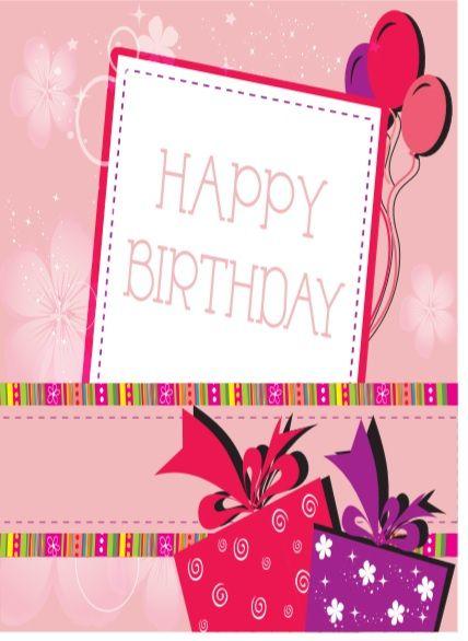 Birthday Card Template 05