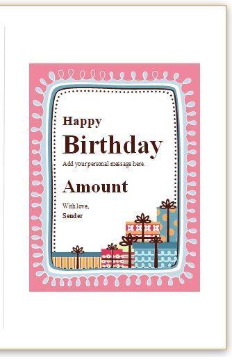 20 Free Birthday Card Templates