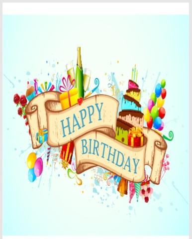Birthday Card Template 08