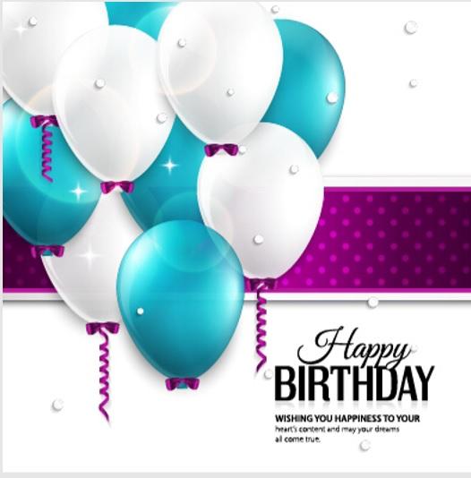 Birthday Card Template 11