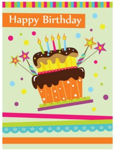 Birthday Card Template 18
