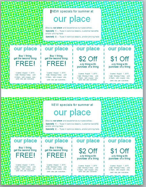 Discount Voucher Template 05