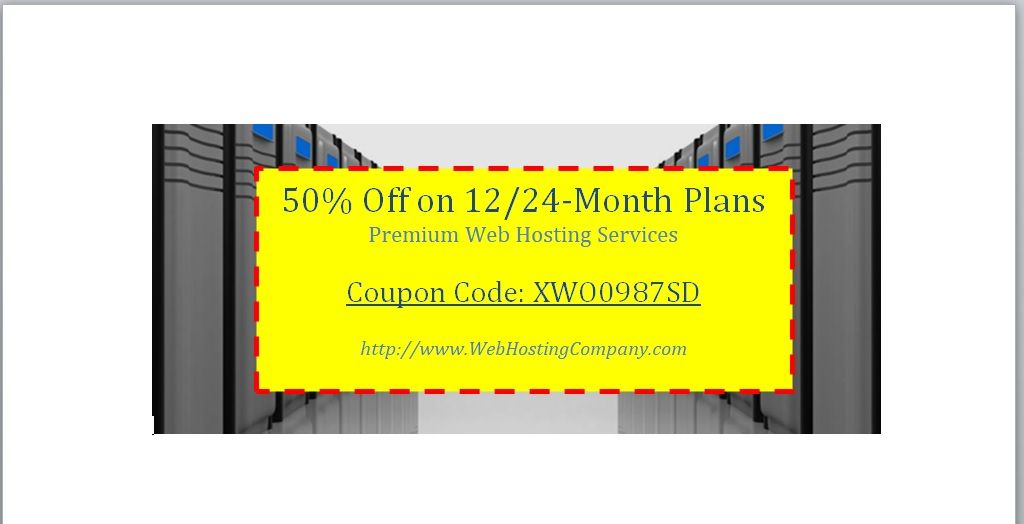 Discount Voucher Template 15