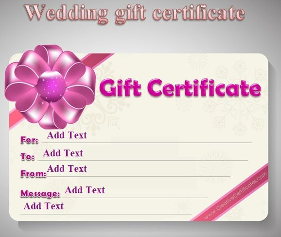 Gift Certificate Template 13