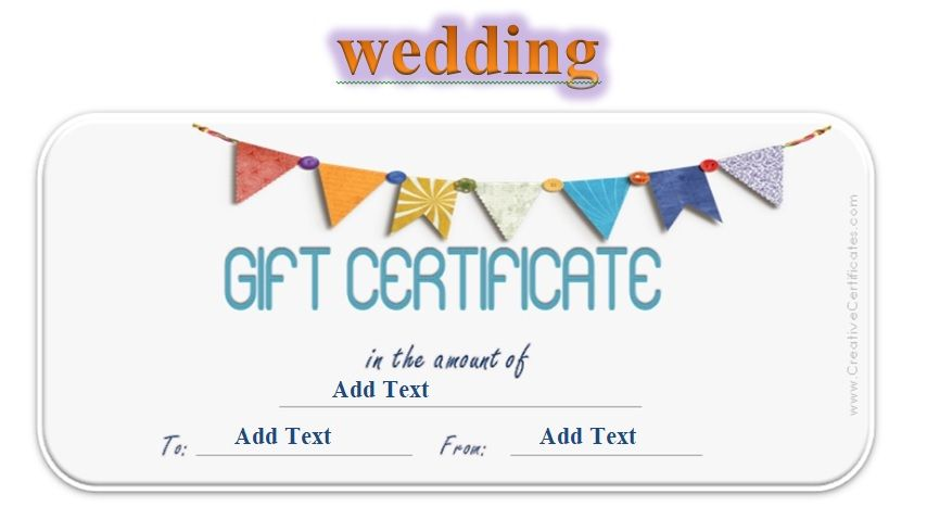 Gift Certificate Template 03