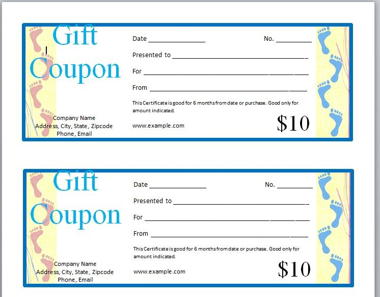 18 Free Gift Voucher Templates