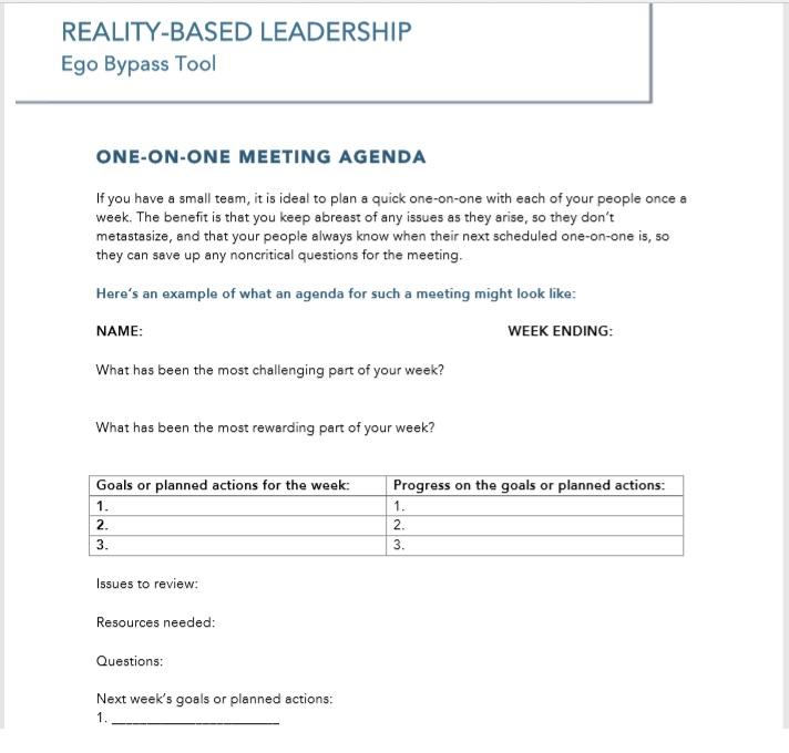 15 Free Meeting Agenda Templates