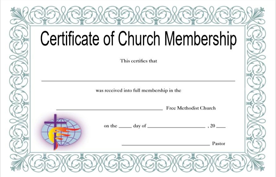 15 Free Membership Certificate Templates