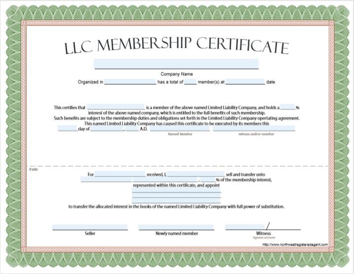 Membership Certificate Template 05
