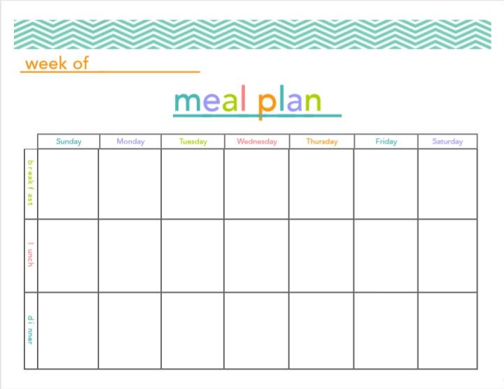 15 Free Menu Planner Templates