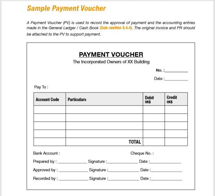 Payment Voucher Template 12