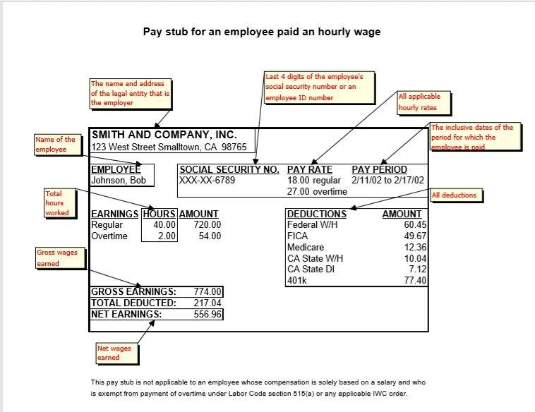 Salary Slip Template 03