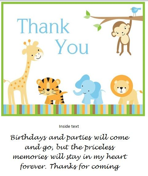 15 Free Thank You Card Templates