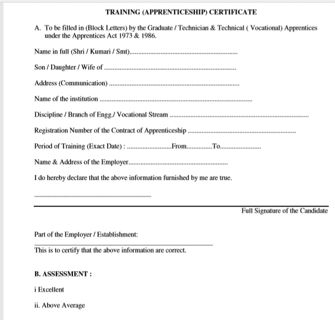 Training Certificate Template 18
