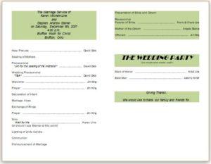 Wedding Card Template 05