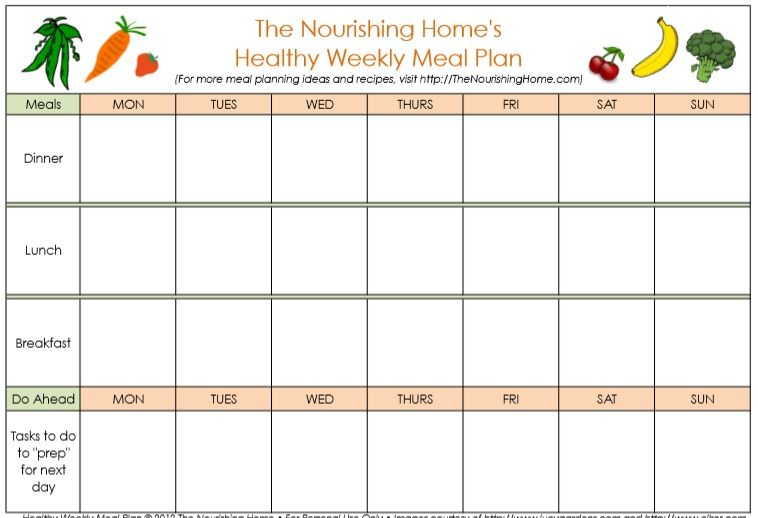Weekly Planner Template 02