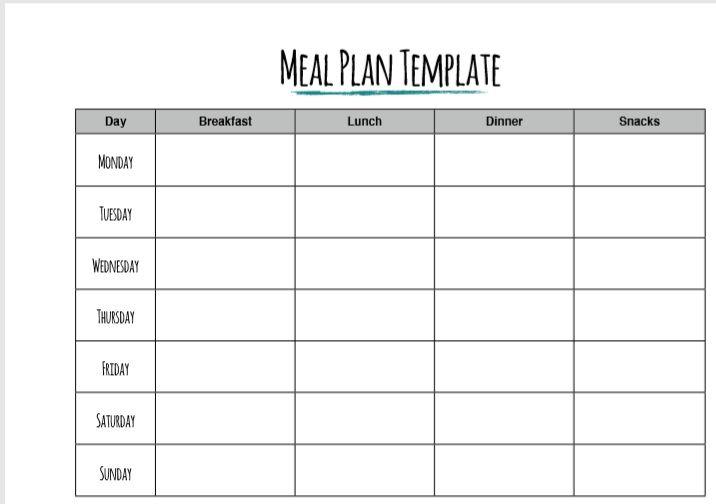 Weekly Planner Template 12