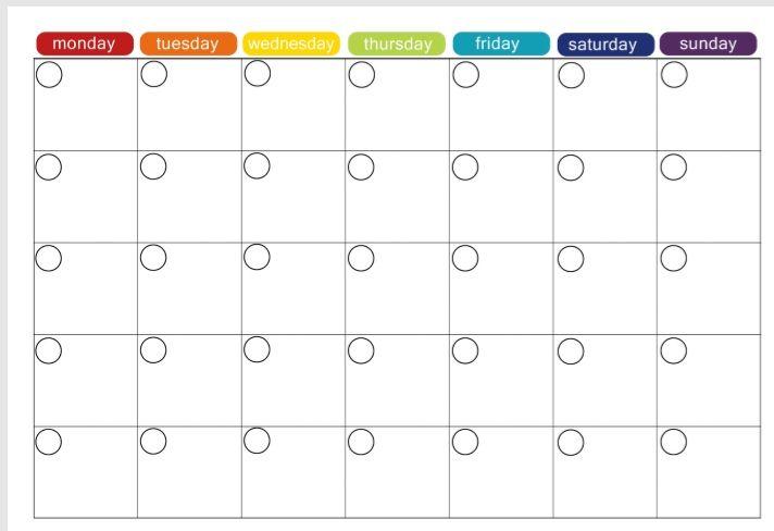 Weekly Planner Template 14