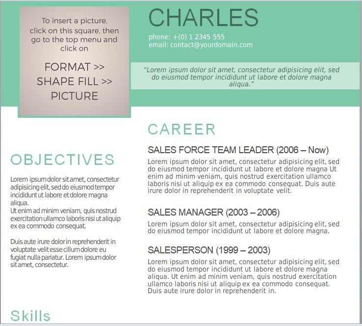 15 Free Resume Templates