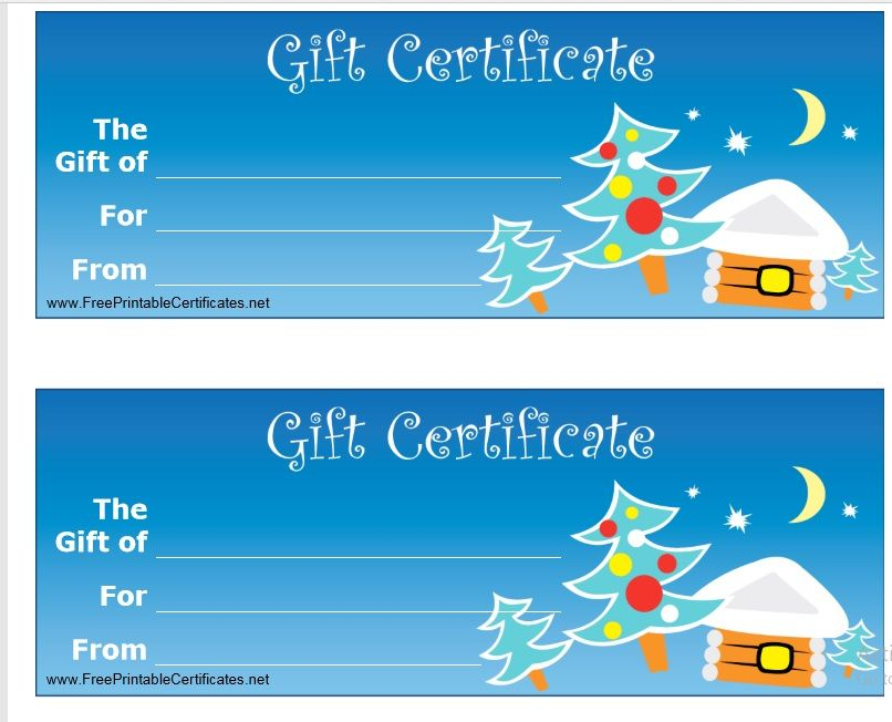 Gift Certificate Template 02