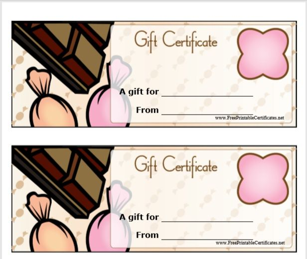 Gift Certificate Template 05