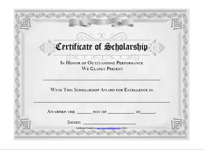 scholarship certificate template 05