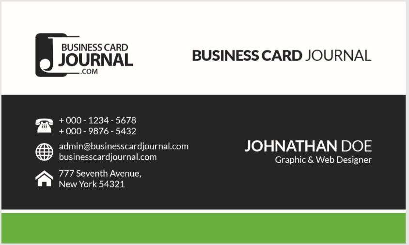 Visiting Card Template 03